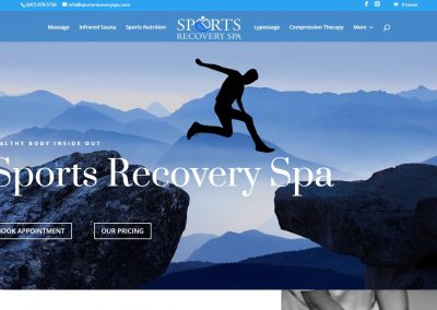 Sports Recovery Spa